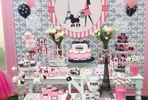 Paris Birthday Theme