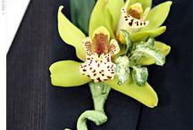 fleur pour costume