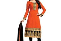 Silicon Enterprise & Co / We have been engaged in offering beautiful range of Ladies Dress Material that are available in various vibrant colors, designs and shades. The stone work provide the rich look to the suits and makes these highly demanded in the market.