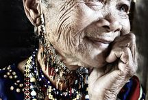 Beautiful old woman