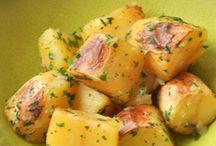 pommes de terre, patates douces...