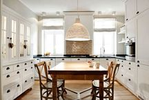 Our Farmhouse Kitchen / ...someday ;) / by Aubrey Greene