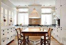 Our Farmhouse Kitchen / ...someday ;)