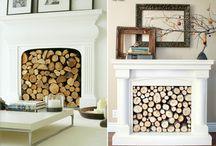Mama wants a faux fireplace / by Jessica Schwartz Zuccarello
