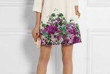 vestidos con flores copiar