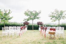 E & M's Wedding in Tuscany