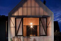 Rural wooden Modern Home