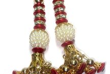Tassels/Latkan / These are handcrafted tassels and can be used to Decorate Sari/Blouse hanging, Salwar Kameez latkan , bags, curtains, Chimes, Chunni, Scarves.