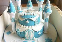 21st Frozen cake