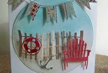 Beach and Nautical cards