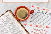 Faith & Scripture / Here you will find scripture study ideas to strengthen your relationship with God. You can even grab my scripture study ideas free printable!