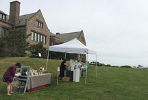 On the Lawn at Rough Point: Clayfest / Clayfest was held June 27, 2015 at Rough Point (680 Bellevue Ave., Newport). The event was held in partnership with the Newport Art Museum and was a day-long celebration of ceramics, in support of the 2015 exhibit, #FiredandInspired: Ceramics at Rough Point.  / by Newport Restoration Foundation