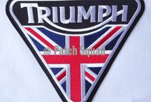 triumph motorcycles/and cars