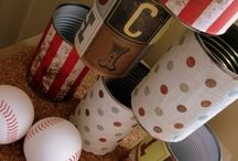 Old fashioned carnival / DIY carnival games with repurposed objects for a small budget.