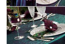 A&M Wedding 2012 / Deep Purple, Turquoise, Lavender / by Sarah Igartua (Nida)