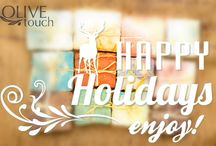 Olive Touch Holiday Style / Christmas, New Year's Eve, Thanksgiving, Easter and many more holidays through Olive Touch's eyes... Happy Holidays!
