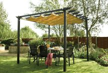 Cloth shade structure