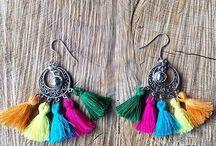 Boho-Chic Earrings / Boho-Chic Earrings