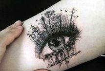 deep eyes tattoo