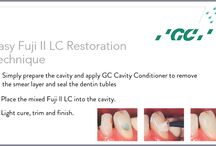 GC #FujiIILC / GC Fuji II LC Improved is the world-wide leading light-cured glassionomer cement. Although designed primarily as a restorative material for use in Class III, V and deciduous teeth, GC Fuji II LC Improved is a multipurpose material, with secondary indications such as liner, base and core build-up.