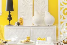 Yellow Home Decor / Yellow in your home, office, or space!