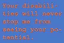 Learning Disabilities / by Mary-Katherine Keller