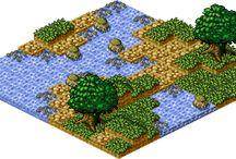 Pixel-Art Environment Isometric