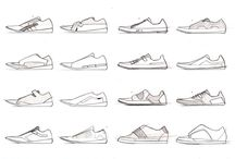 SHOES / - Sketches - Anatomy - Urban Mobility