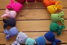 Toys and accessories knitting