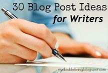 Writing & Blogging Life / Pins about Writing Fiction, Author Career,  Blogging, & Business.