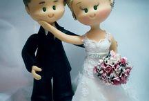 enfeite do casamento