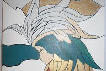 Ana Castro - Pinturas /   Minhas  pinturas!!!