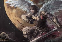 Outcast Angels / Concept art for 'The 13th Chronicle', the first book in the 'Outcast Angels' series