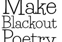 Poetry in Chapters / Blackout Poetry learn it here