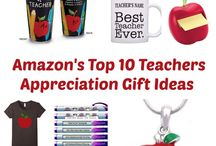 Teacher Appreciation / Easy and Fun Teacher Appreciation Day Ideas. Involve the kids to make some of these.