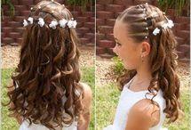 peinados de niñas para fiestas