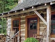 Log cabin ideas / by Claudia Nickolson