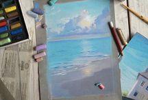 Морская пастель