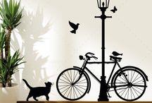 bikes e decoração