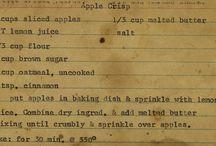 Good Old recipes