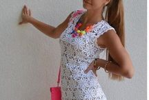 sukienka szydło