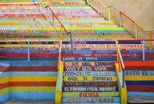 Escalera de la vida. León. España