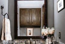 Bathroom ideas / by Tina Monson Rheinford