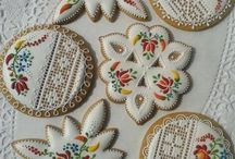 Biscoitos decorados