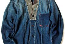 Denim & Workwear / Fashion, menswear, denim, jeans, workwear / by Gianni Fontana