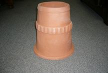clay chimney pots / Available to purchase through Macmillan Slaters and tilers