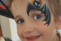 face Paint boy design