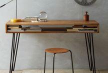 Hairpin Legs KISS desk (keep it simple stupid)