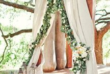 wedding arches canopies