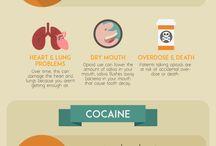 Drug and Alcohol Addiction Infographics